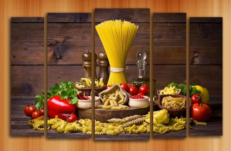 Картины на кухне модуль