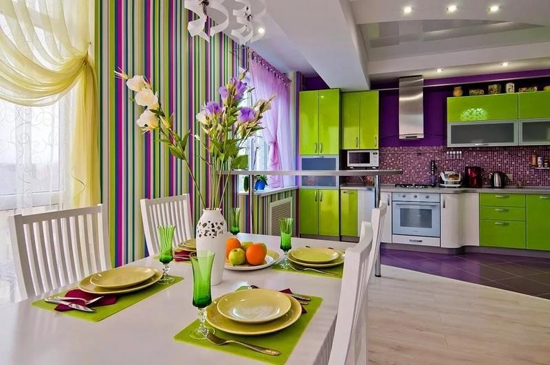 Организация пространства на кухне по фен-шуй