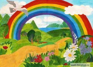 дети и творчество рисунок