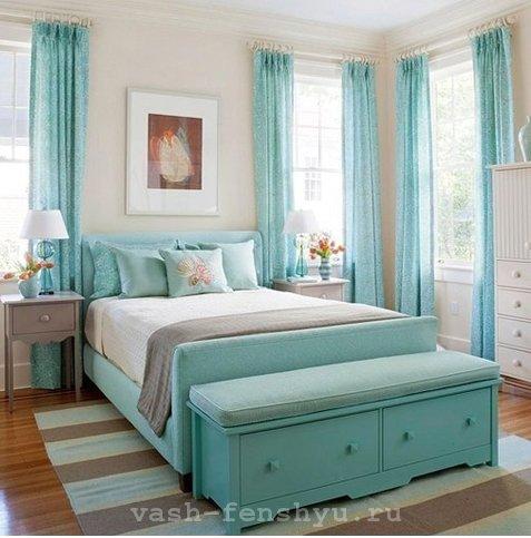 фен шуй цвета спальня