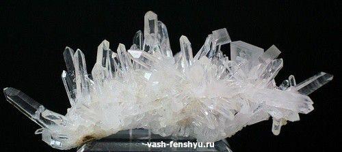 кристаллы горный хрусталь