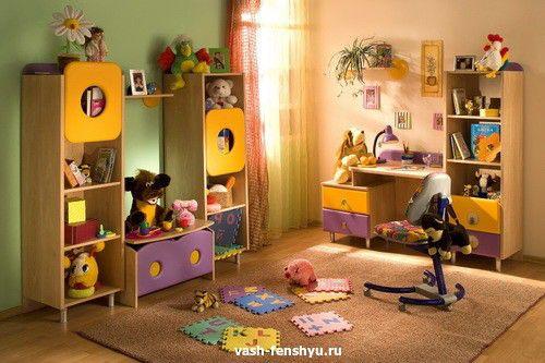 детская комната размер