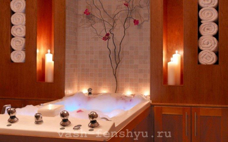 фен шуй ванной расслабляющая