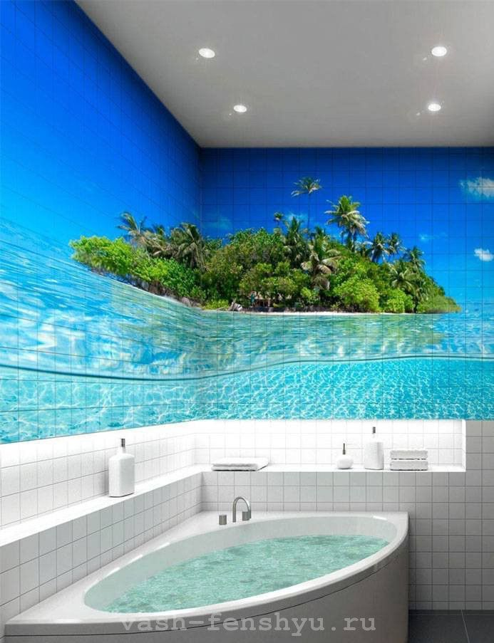 ванная комната по фен шуй изображение