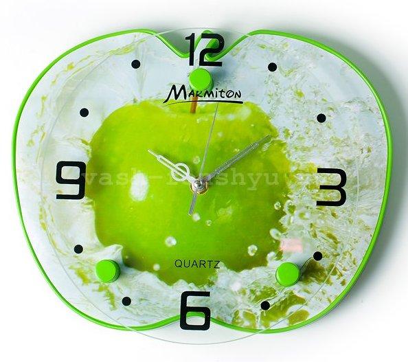 часы по фен-шуй кухонные