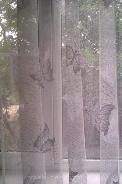 бабочки по фен шуй занавески