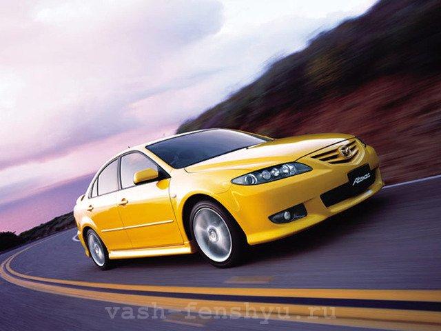 цвет машины по фен шуй желтый