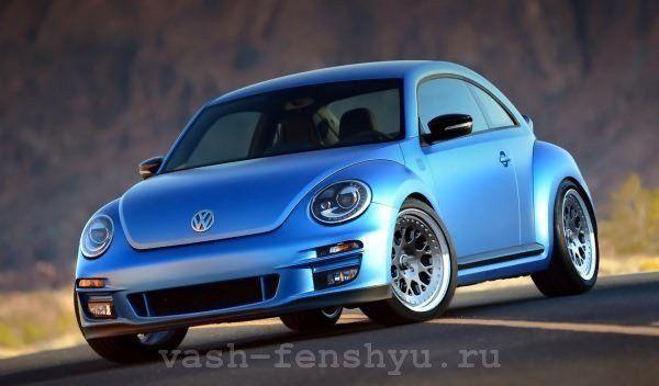цвет машины в фен шуй голубой