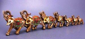 слон по фен шуй семь