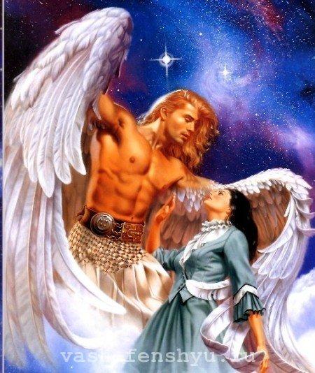 зона помощников по фен шуй ангел
