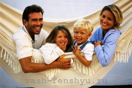 зона детей фен шуй счастливая семья