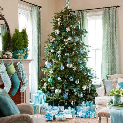 как встретить новый год 2015 по фен шуй елка