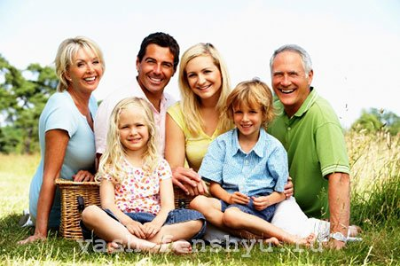 зона семьи по фен шуй дружная