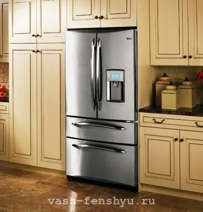 зона богатства кухня холодильник