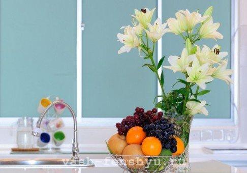 как продать квартиру по фен шуй цветы и фрукты