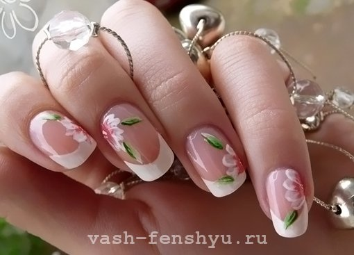 ногти по фен шуй цветы