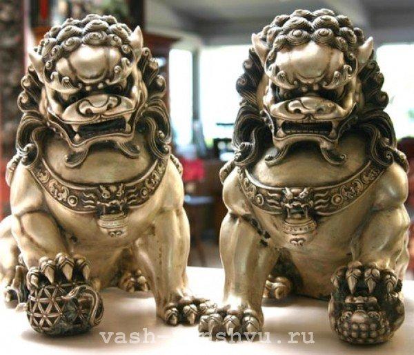 Собачки Фу фен-шуй – символ удачи и защиты