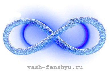 Символ бесконечности и его значение в фен-шуй