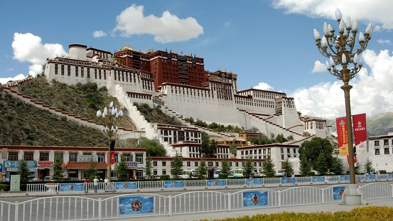бусины дзи мощный тибет лхаса дворец потала