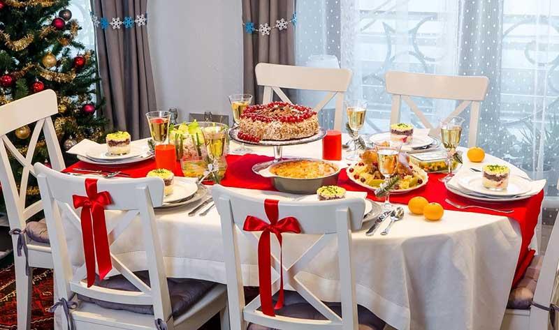 Как встречать новый год - праздничный стол