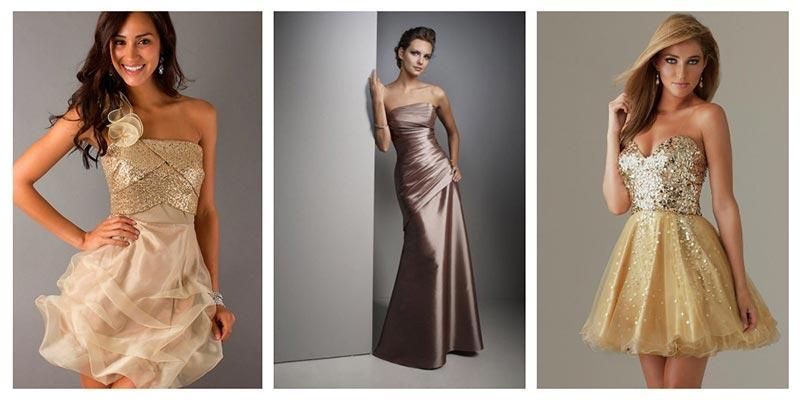 Что одеть на новый год - платье