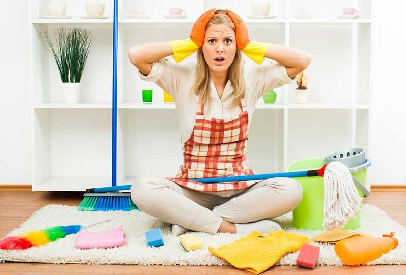 Уборка дома к новому году